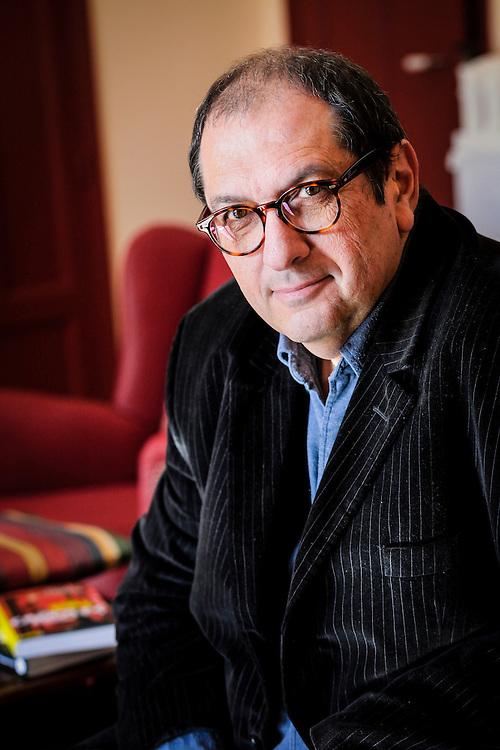 Philippe Carrèse, French movie maker and author at home, Marseille, France, 2012/02/15, © Denis Dalmasso