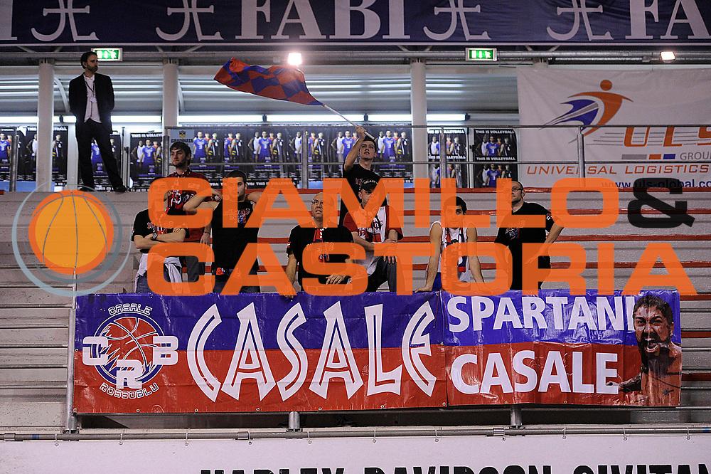 DESCRIZIONE : Ancona Lega A 2011-12 Fabi Shoes Montegranaro Novipiu Casale Monferrato<br /> GIOCATORE : tifosi<br /> CATEGORIA : tifosi supporters curva<br /> SQUADRA : Casale<br /> EVENTO : Campionato Lega A 2011-2012<br /> GARA : Fabi Shoes Montegranaro Novipiu Casale Monferrato<br /> DATA : 18/03/2012<br /> SPORT : Pallacanestro<br /> AUTORE : Agenzia Ciamillo-Castoria/C.De Massis<br /> Galleria : Lega Basket A 2011-2012<br /> Fotonotizia : Ancona Lega A 2011-12 Fabi Shoes Montegranaro Novipiu Casale Monferrato<br /> Predefinita :