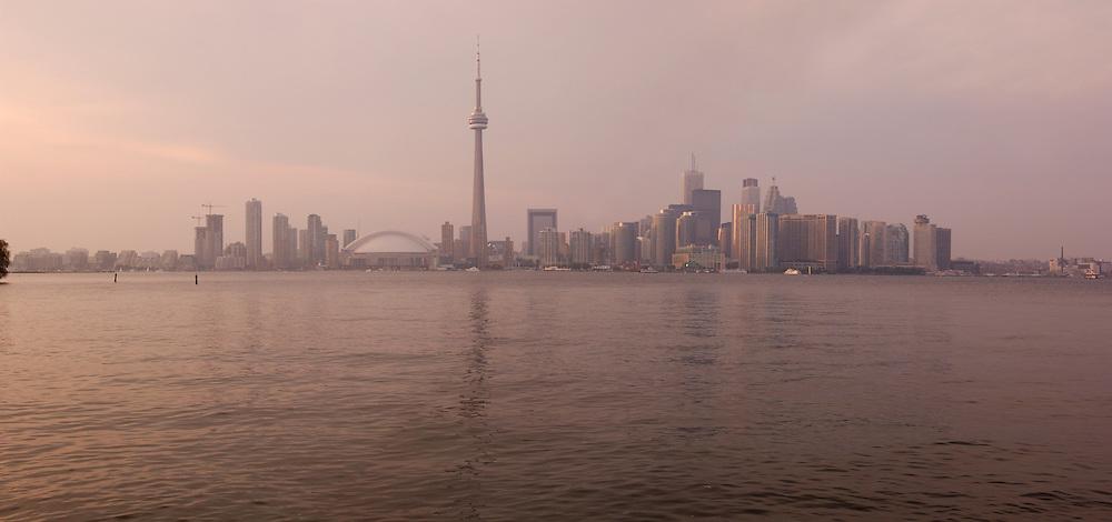 Panorama, Lake Ontario, Toronto, Ontario, Canada