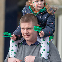 Spectators watching the St Patrick's Day Parade in Tulla