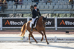 Britta Napel, (GER), Let s Dance 89 - Freestyle Grade II Para Dressage - Alltech FEI World Equestrian Games™ 2014 - Normandy, France.<br /> © Hippo Foto Team - Leanjo de Koster<br /> 25/06/14