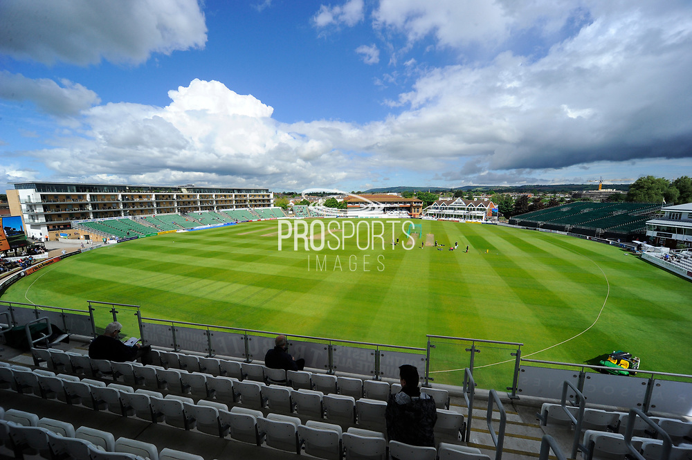 The County Ground stadium before the Specsavers County Champ Div 1 match between Somerset County Cricket Club and Warwickshire County Cricket Club at the Cooper Associates County Ground, Taunton, United Kingdom on 19 May 2017. Photo by Graham Hunt.
