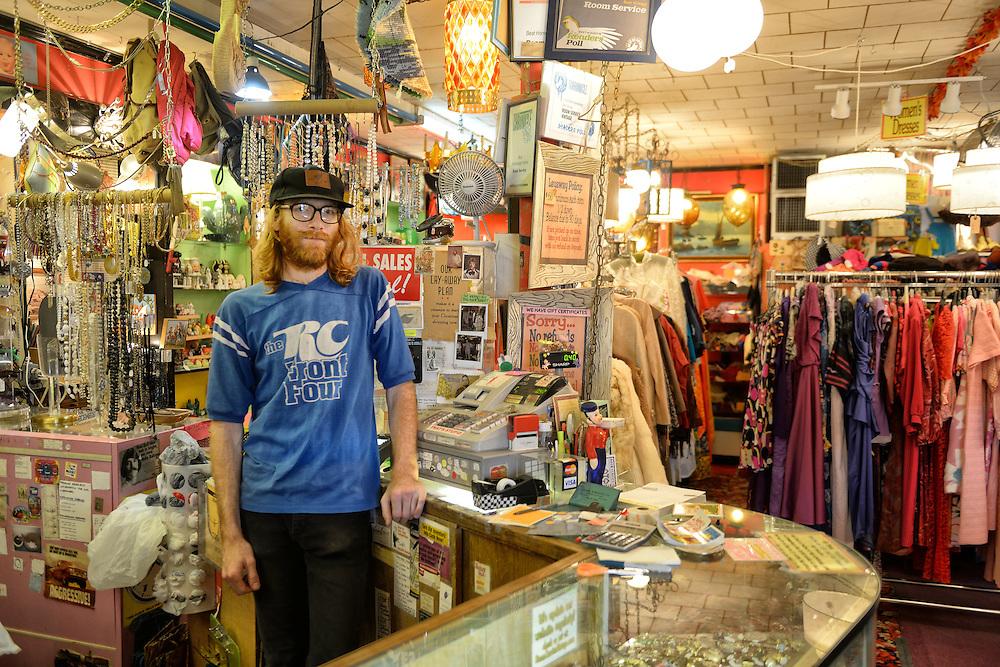 Vintage Store in North Lopp area,Austin,Texas,USA