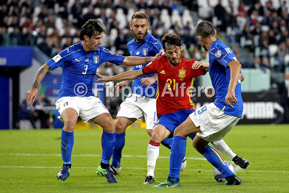 &copy; Filippo Alfero<br /> Italia-Spagna, qualificazioni Mondiali Russia 2018<br /> Torino, 06/10/2016<br /> sport calcio<br /> Nella foto: