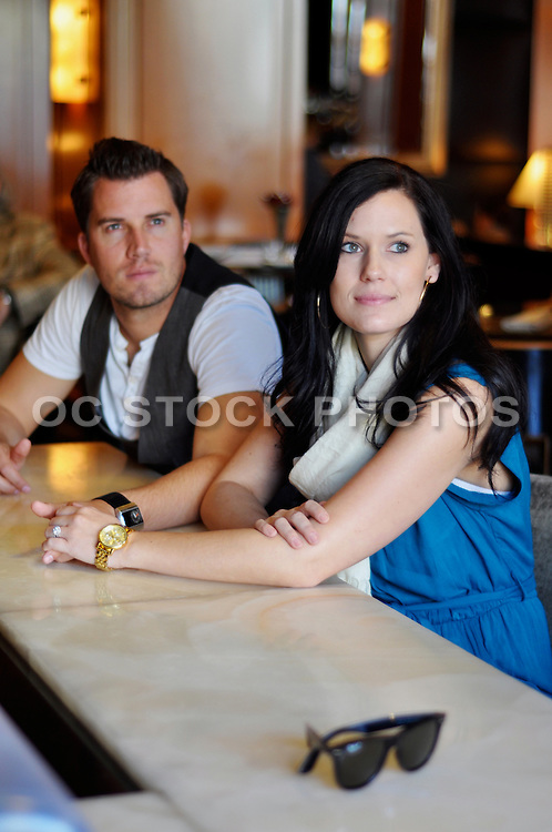 Couple Sitting At The Bar