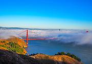 Fog Over Golden Gate Bridge
