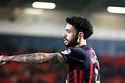 Blackburn Rovers defender Derrick Williams (3) during the EFL Sky Bet League 1 match between Doncaster Rovers and Blackburn Rovers at the Keepmoat Stadium, Doncaster, England on 24 April 2018. Picture by Mick Atkins.