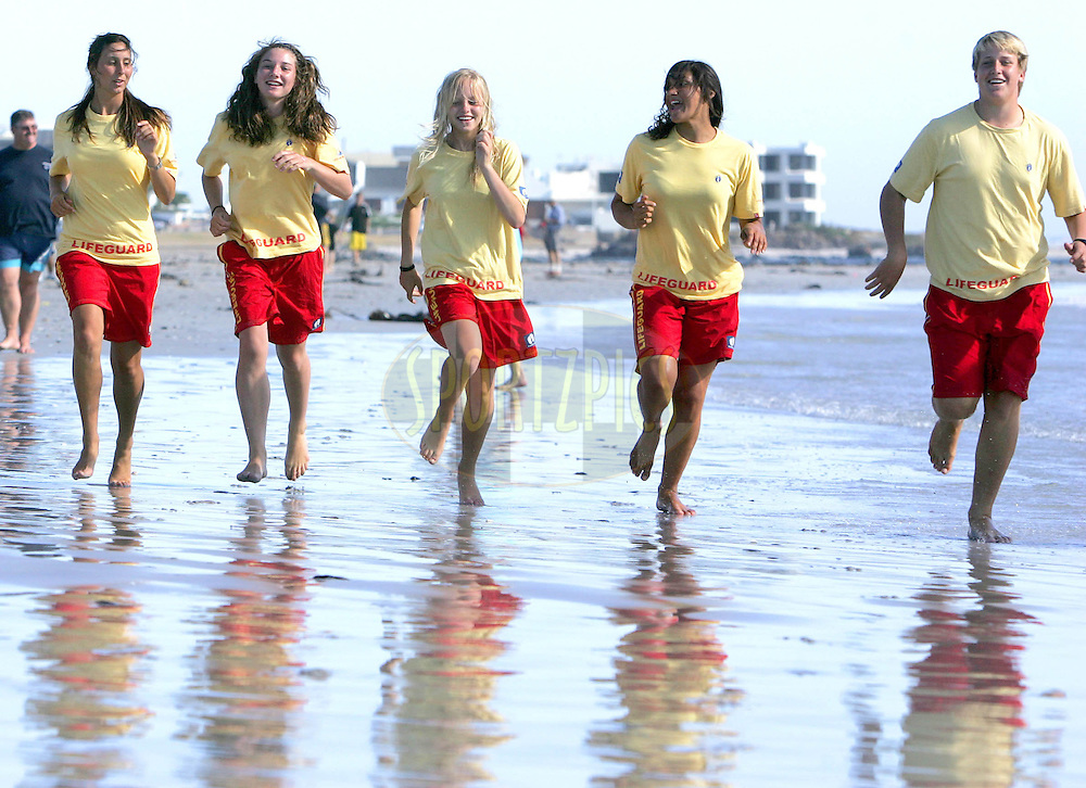 During the Hang Ten Media Launch at the Big Bay Lifesaving club. 31 January 2008....Images shot for Octagon and Hang Ten and are not for sale or reproduction in any way...Image © Sportzpics