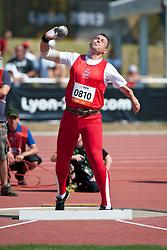 REBISZ Tomasz, POL, Shot Put, F46, 2013 IPC Athletics World Championships, Lyon, France