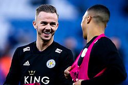 James Maddison of Leicester City smiles - Mandatory by-line: Robbie Stephenson/JMP - 12/04/2019 - FOOTBALL - King Power Stadium - Leicester, England - Leicester City v Newcastle United - Premier League
