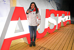 17.02.2018, Austria House, Pyeongchang, KOR, PyeongChang 2018, Medaillenfeier, im Bild Anna Veith // Anna Veith during a medal celebration of the Pyeongchang 2018 Winter Olympic Games at the Austria House in Pyeongchang, South Korea on 2018/02/17. EXPA Pictures © 2018, PhotoCredit: EXPA/ Erich Spiess
