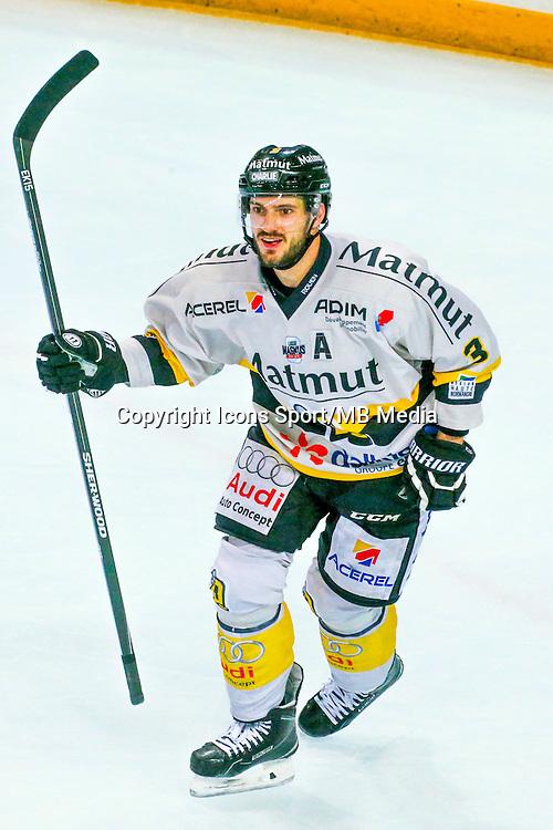 Joie Jonathan Janil - 25.01.2015 - Rouen / Amiens - Finale Coupe de France 2015 de Hockey sur glace<br /> Photo : Xavier Laine / Icon Sport