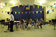 The Sagamore Hills Elementary School spring orchestra and band concert is performed by fourth and fifth graders, Tuesday, May 13, 2013, in Atlanta.  (David Tulis/dtulis@gmail.com)