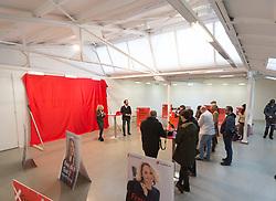 12.01.2018, Fotoforum West, Innsbruck, AUT, Landtagswahl Tirol, Präsentation der SPÖ Kampagne, im Bild eine Übersicht // during the presentation of the SPÖ campaign for the upcoming Tyrolean state election at the Fotoforum West in Innsbruck, Austria on 2018/01/12. EXPA Pictures © 2018, PhotoCredit: EXPA/ Jakob Gruber
