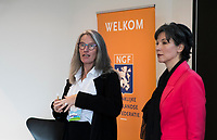 BUSSUM - NVG / NGF/ PGA congres 2018. The drive to happiness.  Suzannne Rozema met Mandy de Boer.  COPYRIGHT KOEN SUYK