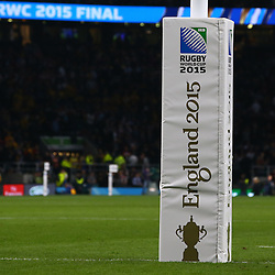 LONDON, ENGLAND - OCTOBER 31: General views during the Rugby World Cup Final match between New Zealand vs Australia Final, Twickenham, London on October 31, 2015 in London, England. (Photo by Steve Haag)