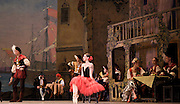 Don Quixote <br /> The Mariinsky Ballet <br /> at The Royal Opera House, London, Great Britain <br /> 2nd August 2011 <br /> <br /> presented by Victor Hochhauser<br /> <br /> Anastasia Matvienko (as Kitri)<br /> Denis Matvienko (as Basil)<br /> <br /> Photograph by Elliott Franks