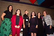 Senator Yvanna Cancela, Jennifer Medina, New York Times Correspondent,  Senator Rebecca Rios, Senator Antoinette Sedillo Lopez, Senator Julie Gonzales, Senator Maria Elena Durazo