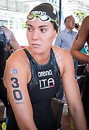 Barbara Pozzobon ITA<br /> 52 a Capri - Napoli<br /> FINA Open Water Swimming Grand Prix 2017<br /> September 3rd, 2017 - 03-09-2017<br /> &copy;Chiara Perlino/Deepbluemedia/Inside foto