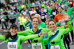 10km Run at Volkswagen 22nd Ljubljana Marathon 2017, on October 29, 2017 in Ljubljana, Slovenia. Photo by Vid Ponikvar / Sportida