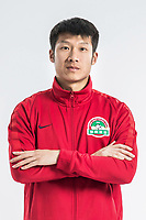 **EXCLUSIVE**Portrait of Chinese soccer player Gu Cao of Henan Jianye F.C. for the 2018 Chinese Football Association Super League, in Zhengzhou city, central China's Henan province, 21 February 2018.
