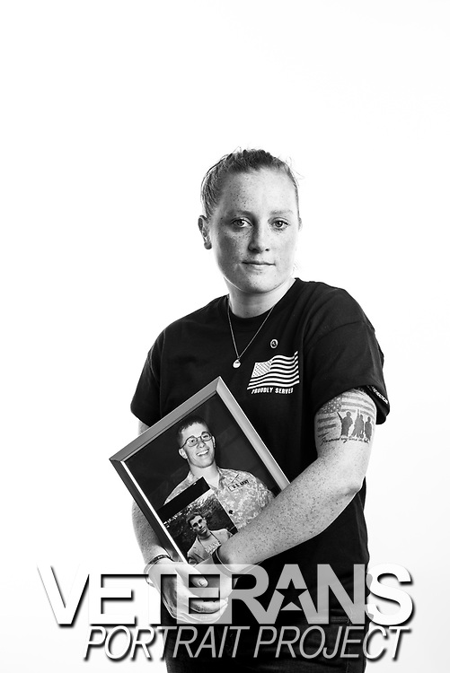 Shanon Duffy<br /> Air Force<br /> E-5<br /> Medic<br /> 07/28/2011-07/27/2017<br /> OEF/OIF<br /> <br /> Veterans Portrait Project<br /> Photo by Stacy L. Pearsall