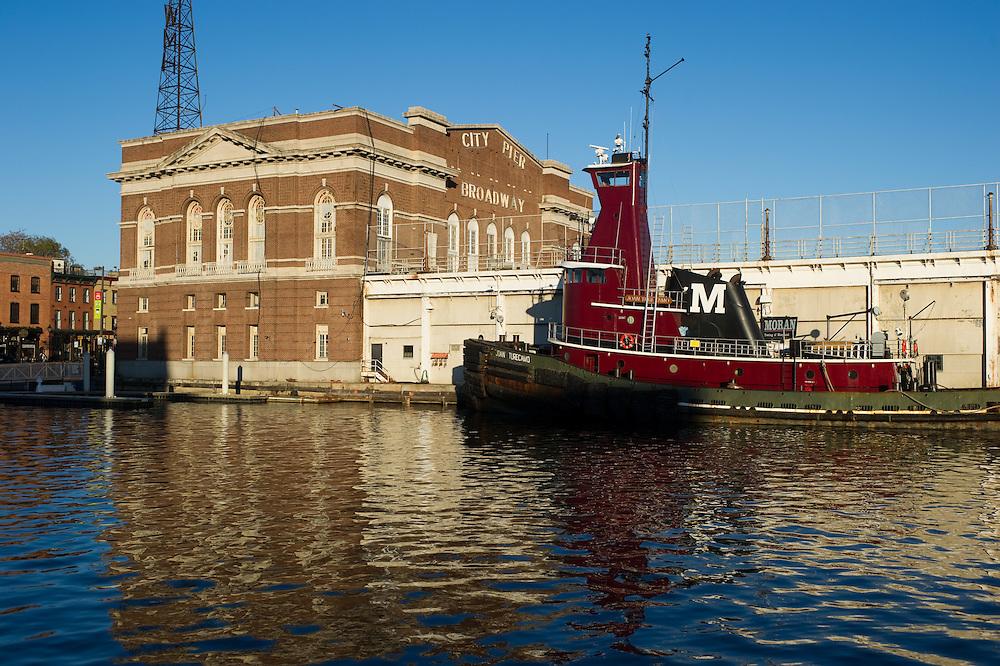 Fells Point recreation pier  - Baltimore, Maryland