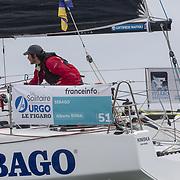 Départ de la solitaire du Figaro 2019 à Pornichet