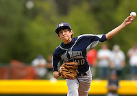 Lubbock Western All-Star pitcher Garrett Williams threw 85 pitches with no hits during Sunday's win against Curacao in the Little League World Series consolation game.