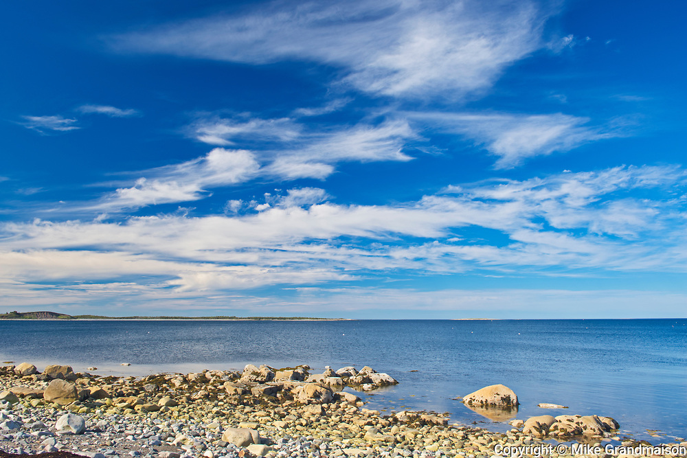 CLouds and the Atlantic Ocean, Canso, Nova Scotia, Canada