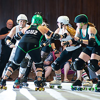 2014 - Ohio Roller Girls VS Cincinnati