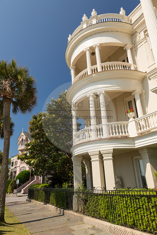 The Porcher-Simonds House on East Battery in historic Charleston, SC.