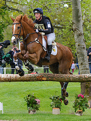 Oliver Townend and ARMADA - Cross Country phase, Mitsubishi Motors Badminton Horse Trials, Badminton House, Gloucestershire, United Kingdom, Saturday, 10th May 2014. Picture by Nico Morgan / i-Images