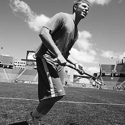 Duke Lacrosse: Behind the Scenes in B+W Photography in 2008 Final Four