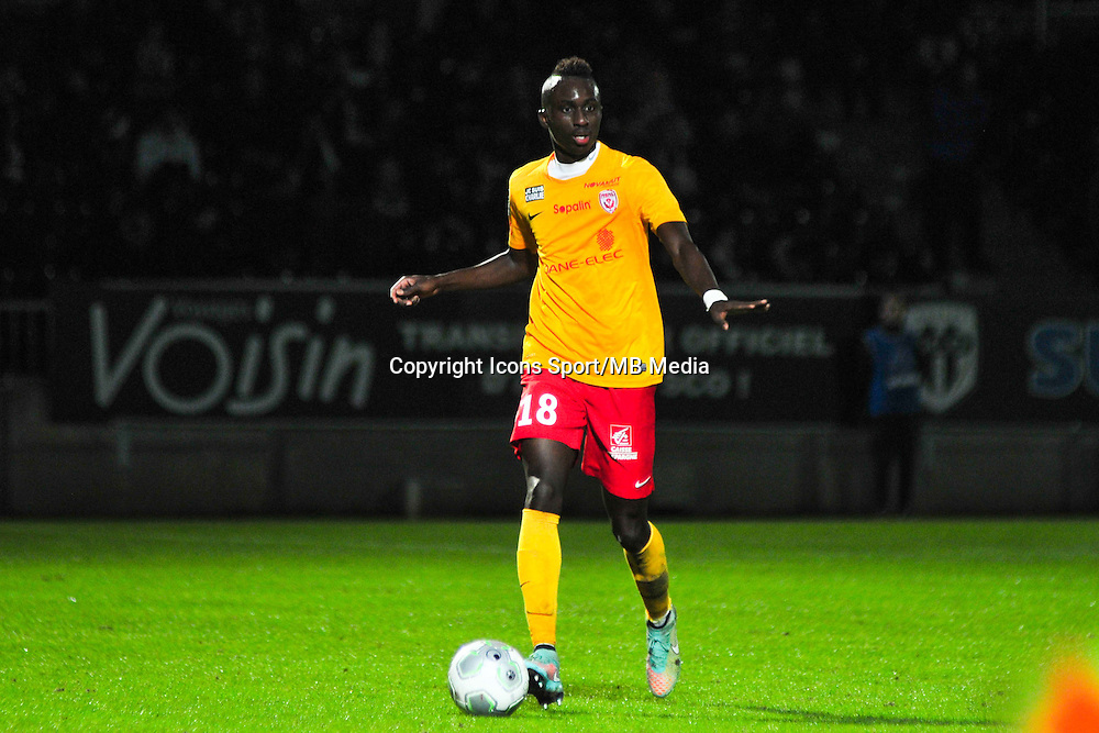 Modou Diagne  - 09.01.2015 - Angers / Nancy - 19eme journee de Ligue 2 <br /> Photo : Philippe Le Brech / Icon Sport