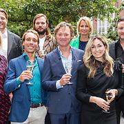 NLD/Amsterdam/20190910 - Lancering Platform Celebabs, Ambassadeurs Celebabs - Irene Moors, Anouk Smulders, Dennis Weening, Dennis van der Geest, Do, Frits Sissing en Tim Ouborg en Jeroen van den Boom