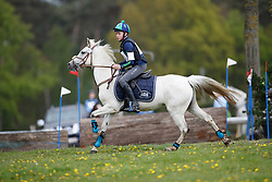 Andries Hannes, BEL, Snow II<br /> Nationaal Kampioenschap Eventing Minderhoud 2018<br /> © Hippo Foto - Dirk Caremans