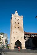 Johannistor, Stadtbefestigung Wehranlagen am Pulverturm, Jena, Thüringen, Deutschland | city walls, Johannis gate, Jena, Thuringia, Germany