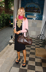 MISS VANESSA THREAPLETON-HORROCKS at the No Campaign's Summer Party - a celebration of the 'Non' and 'Nee' votes in the Europen referendum in France and The Netherlands held at The Peacock House, 8 Addison Road, London W14 on 5th July 2005.<br />