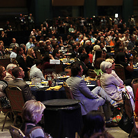 Attendees listen as President Barack Obama speaks at the NALEO (National Association of Latino Elected and Appointed Officials) conference at the Disney Contemporary Resort Convention Center in Lake Buena Vista, Fla. on Friday, June 22, 2012. (AP Photo/Alex Menendez) President Barack Obama speaks in Orlando, Florida.