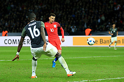 England's Dele Alli misses a chance late on  - Mandatory by-line: Matt McNulty/JMP - 26/03/2016 - FOOTBALL - Olympiastadion - Berlin, Germany - Germany v England - International Friendly