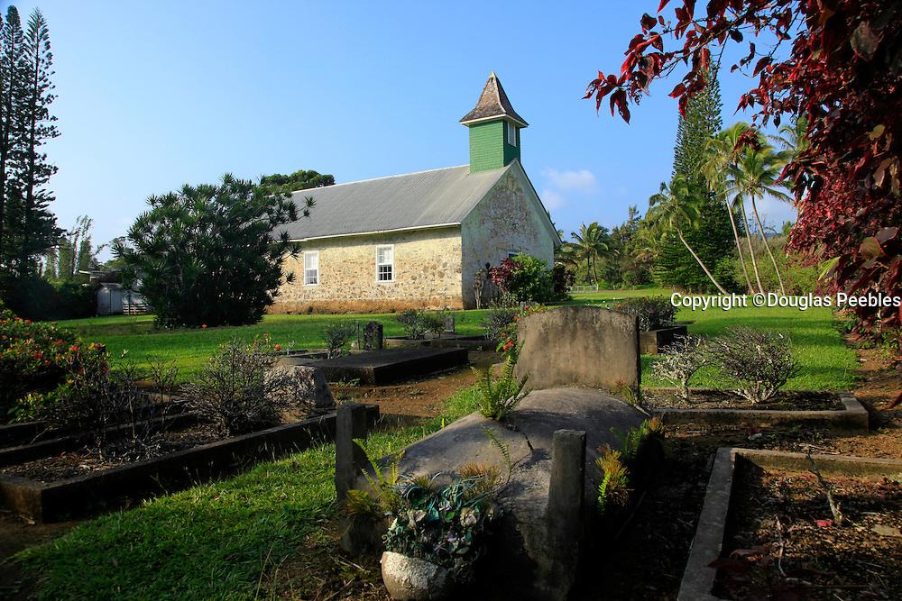 Kaulanapueo Church, 1838, Hana Coast,