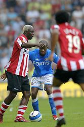 17-09-2006 VOETBAL: PSV - FEYENOORD: EINDHOVEN <br /> PSV verslaat in eigen huis Feyenoord met 2-1 / Dwight Tiendalli en Arouna Kone<br /> &copy;2006-WWW.FOTOHOOGENDOORN.NL