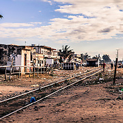 The railway system is quite run-down but it goes to South Africa and to the north, in the important carbon region of Tete
