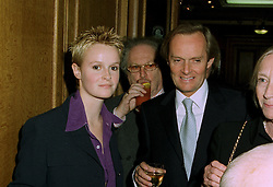 The MARQUESS OF DOURO and his daughter LADY HONOR WELLESLEY at a party in London on 30th June 1997.LZU 16