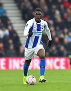 Yves Bissouma (8) of Brighton and Hove Albion on the attack during the The FA Cup 3rd round match between Bournemouth and Brighton and Hove Albion at the Vitality Stadium, Bournemouth, England on 5 January 2019.
