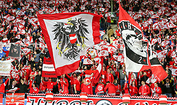 15.11.2014, Ernst Happel Stadion, Wien, AUT, UEFA Euro 2016 Qualifikation, Oesterreich vs Russland, Gruppe G, im Bild Fans // during the UEFA EURO 2016 qualifier group G match between Austria and Russia at the Ernst Happel Stadion, Vienna, Austria on 2014/11/15. EXPA Pictures © 2014, PhotoCredit: EXPA/ Alexander Forst
