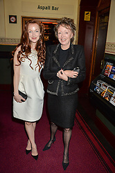 Actress OLIVIA GRANT and her mother IRENE GRANT arriving at Swan Lake at The Royal Albert Hall, London on 2nd June 2016.
