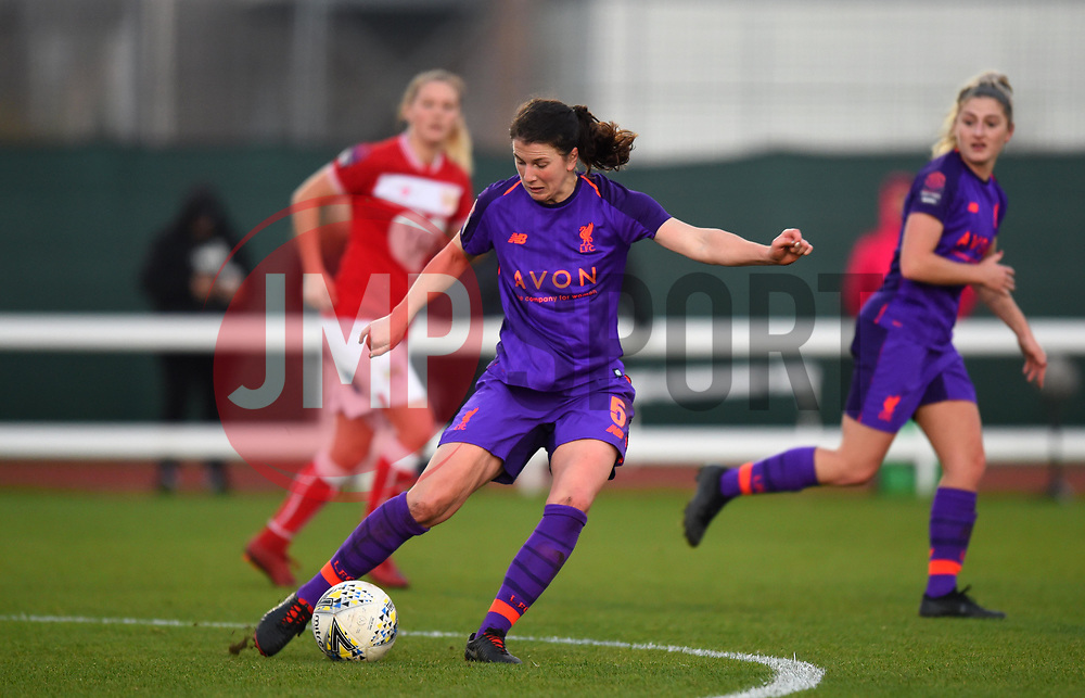 Niamh Fahey of Liverpool Women - Mandatory by-line: Paul Knight/JMP - 17/11/2018 - FOOTBALL - Stoke Gifford Stadium - Bristol, England - Bristol City Women v Liverpool Women - FA Women's Super League 1