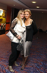 Left to right, ARABELLA TOBIAS and presenter ALICE BEER at a sales event for the exclusive Chelsea Bridge Wharf in aid of CLIC Sargeant cancer charity held at Stamford Bridge football stadium, Chelsea, London on 7th February 2006.<br /><br />NON EXCLUSIVE - WORLD RIGHTS